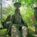 Jardin de Bomarzo en Viterbo (Italia)