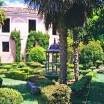 Jardines de la fábrica de paños de Brihuega